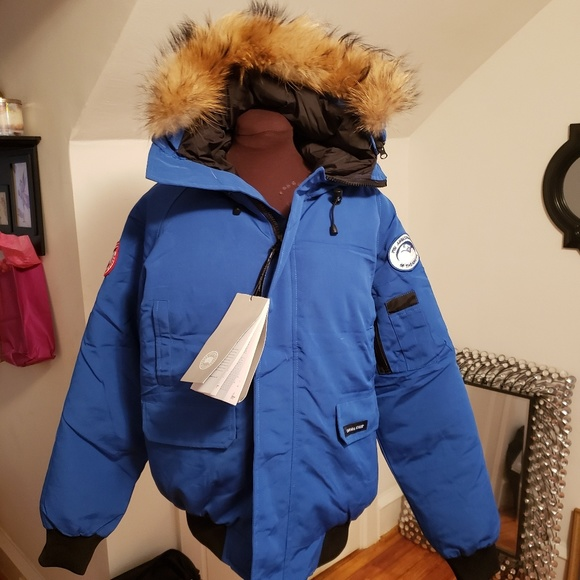 MossBlack Canada Goose Winter Coat